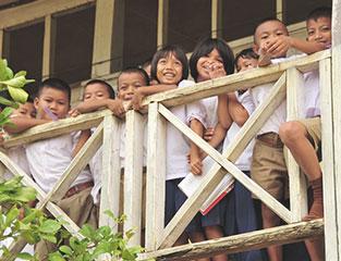 タイの学生支援